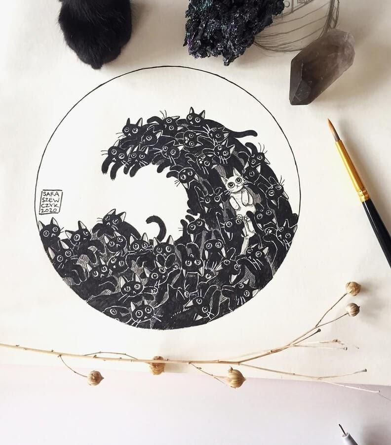 10-Cat-Wave-Sara-Szewczyk-www-designstack-co