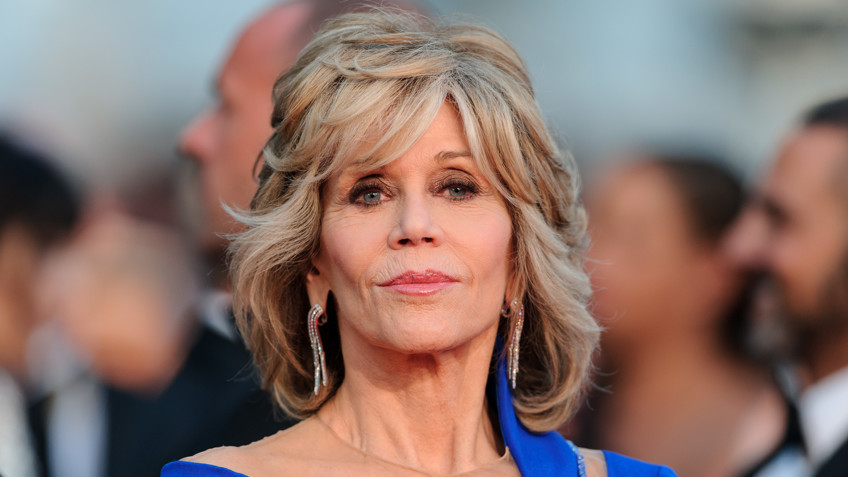 4ae1d1d4 The well-known American actress Jane Fonda awarded the prestigious Kirk  Douglas, is awarded for outstanding achievement in film at the  International Film ...