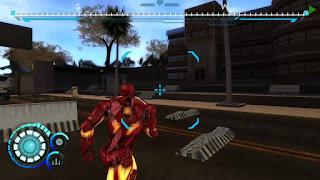 Game Iron Man 2 PPSSPP