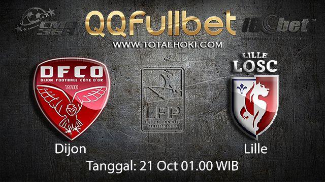 Prediksi Bola Jitu Dijon vs Lille 21 Oktober 2018 ( French Ligue 1 )