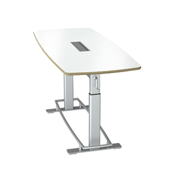 Sit To Stand Boardroom Table