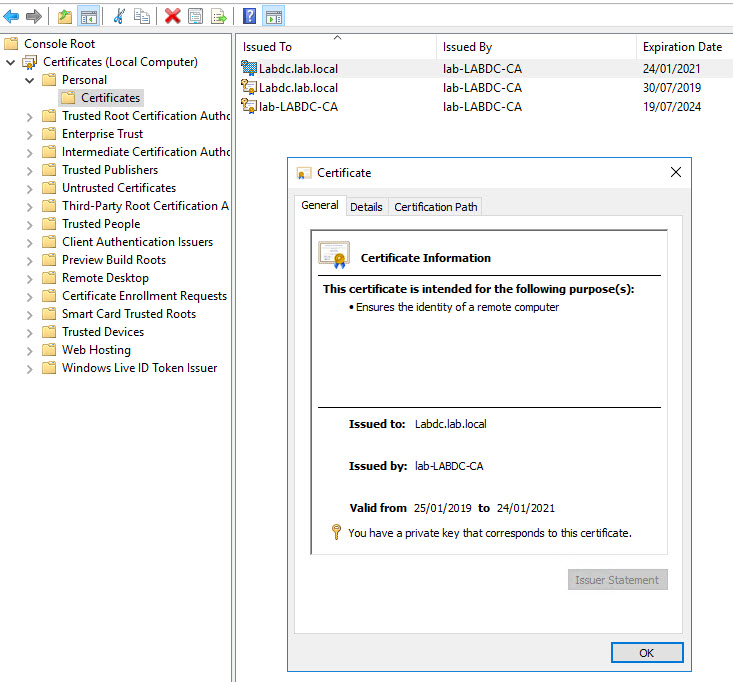 Vmware Snapshots Securing Windows Rdp Connections With A Signed Ssl