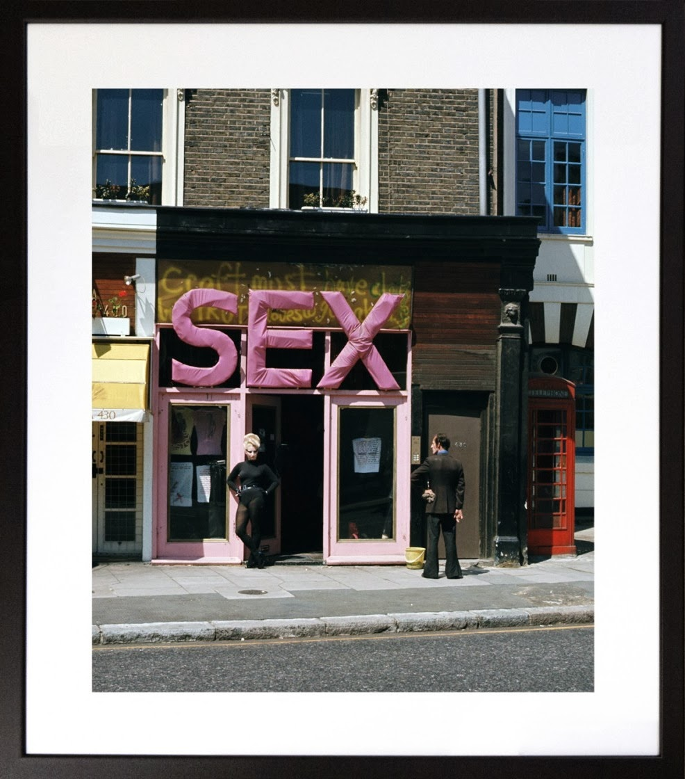 The Photography of Punk. Sex Boutique. Sheila Rock