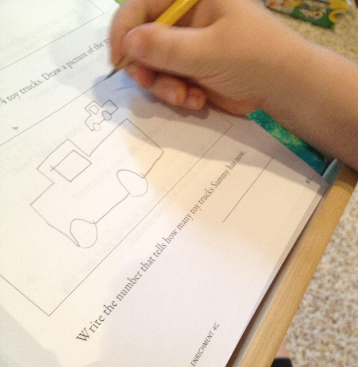 Homeschooling 3 Math U See