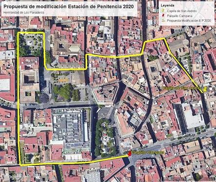 Los Panaderos de Sevilla dará un rodeo para llegar a la Campana en la Semana Santa de Sevilla 2020