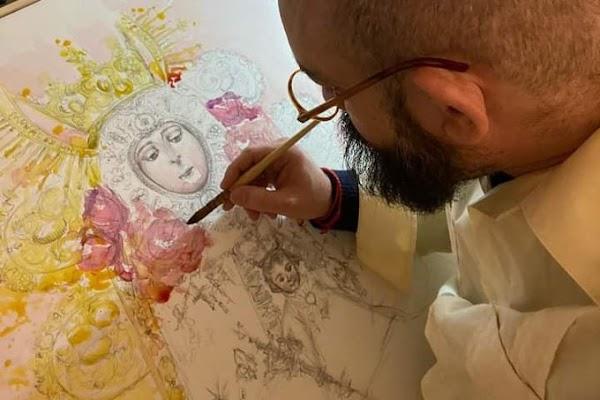 El artista Luis de la Pura realizará el cartel del X Aniversario de la Hermandad Ntra. Sra. del Rocío de Torremolinos