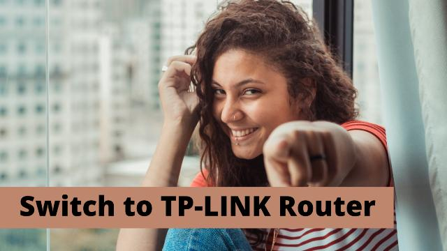 TP-Link router for fast Gaming and streaming Videos