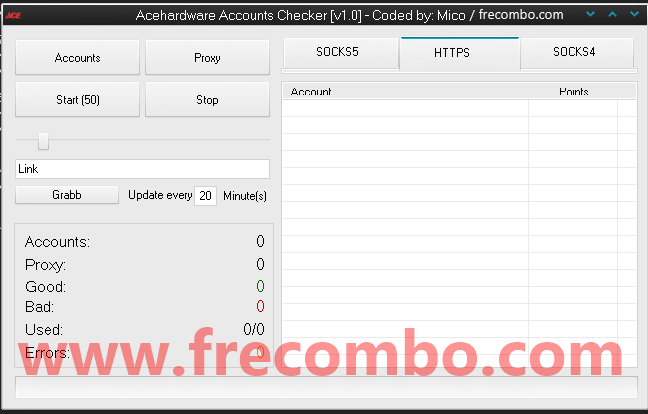 Acehardware Accounts Checker [v1.0] – Coded by Mico