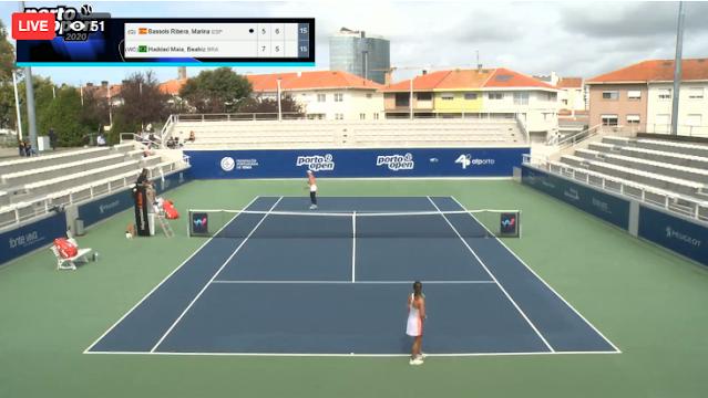 Beatriz Haddad Maia joga pela segunda rodada em terceiro dia