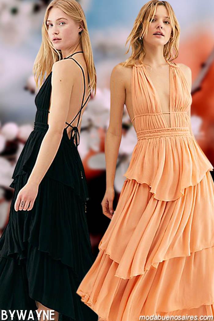 Moda 2020: Vestidos primavera verano 2020.