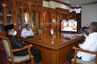Wagub Jambi H.Abdullah Sani Ikuti Webinar Sosialisasi Indeks Inovasi Daerah