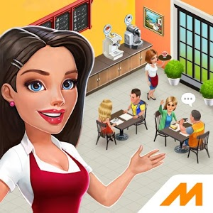 Game My Cafe: Recipes & Stories v2017.6 Mod Apk+DATA