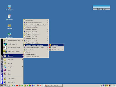 Windows Me Display