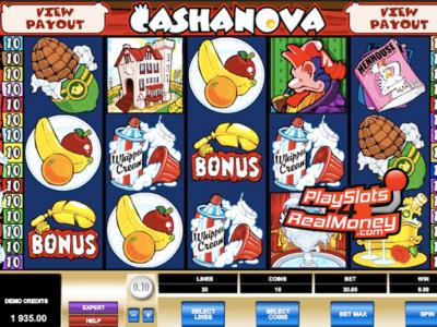 Cashanova Slots Is Like A Real Casanova