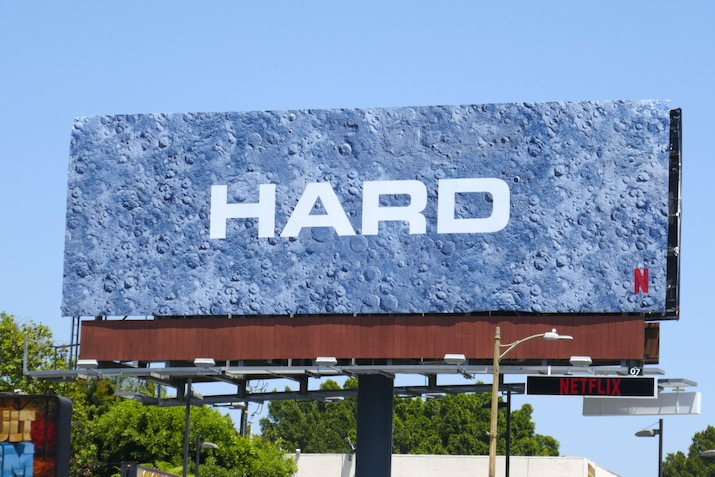 Hard Space Force Netflix billboard
