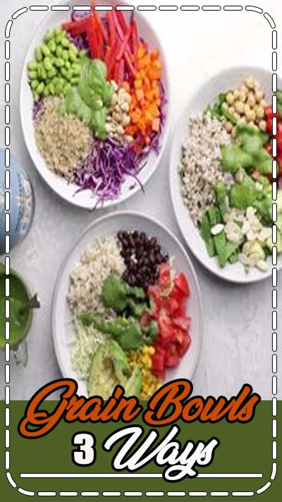 Grain bowls are a healthy and nutritious meal that are perfect for meal prep and quick and easy weeknight dinners. Simple to make and loaded with fresh ingredients. Choose from quinoa, brown rice and faro and mix and match your toppings to taste!