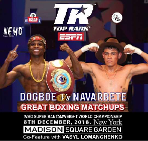 Dogboe set for the murder against Navarrete.