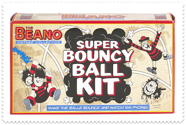 The Beano Bouncy Ball Kit