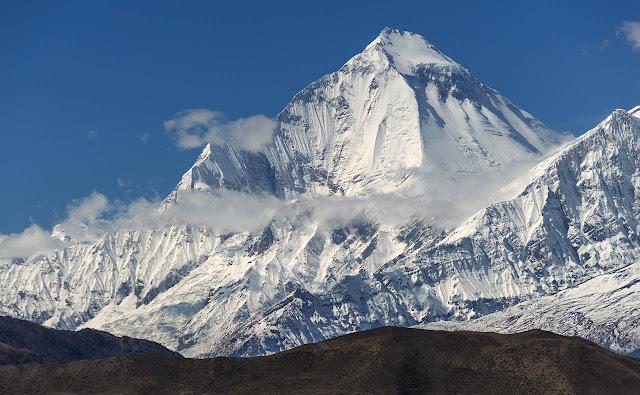 Dhaulagiri montain