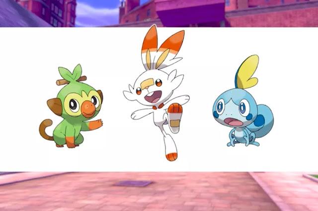 Here are Pokémon 2019 New Starters #PokemonSwordShield