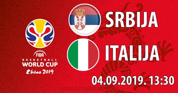 Svetsko Prvenstvo U Košarci Srbija Italija Uživo Prenos