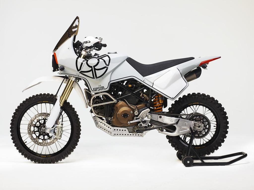 Chi tiết Ducati Scrambler biến hình thành xe adventure cổ điển