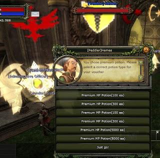 Knight Online Premium Pot Kırdırma NPC'si