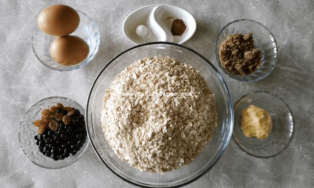 Resep Biskuit Enak Oatmeal Cookies