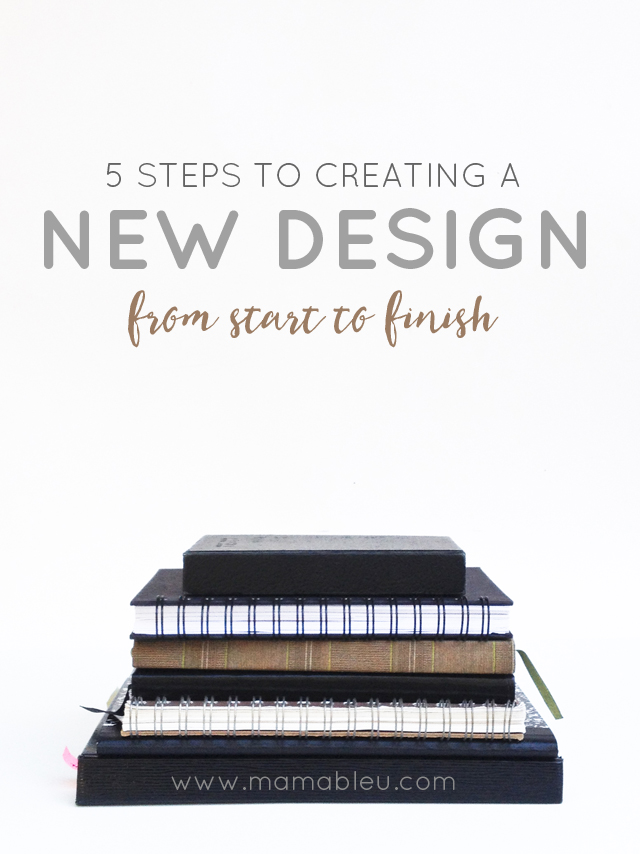 5 Steps to Creating a New Product Design from the birth of an idea to the finished product.