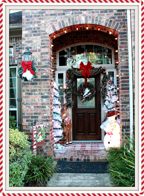 Christmas Front Porch-Vintage Inspired Christmas-From My Front Porch To Yours