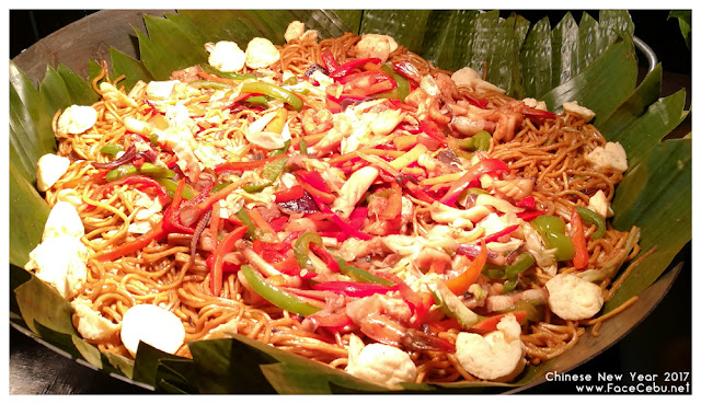 Pansit for Long life at UNO Restaurant,Waterfront Airport Hotel and Casino