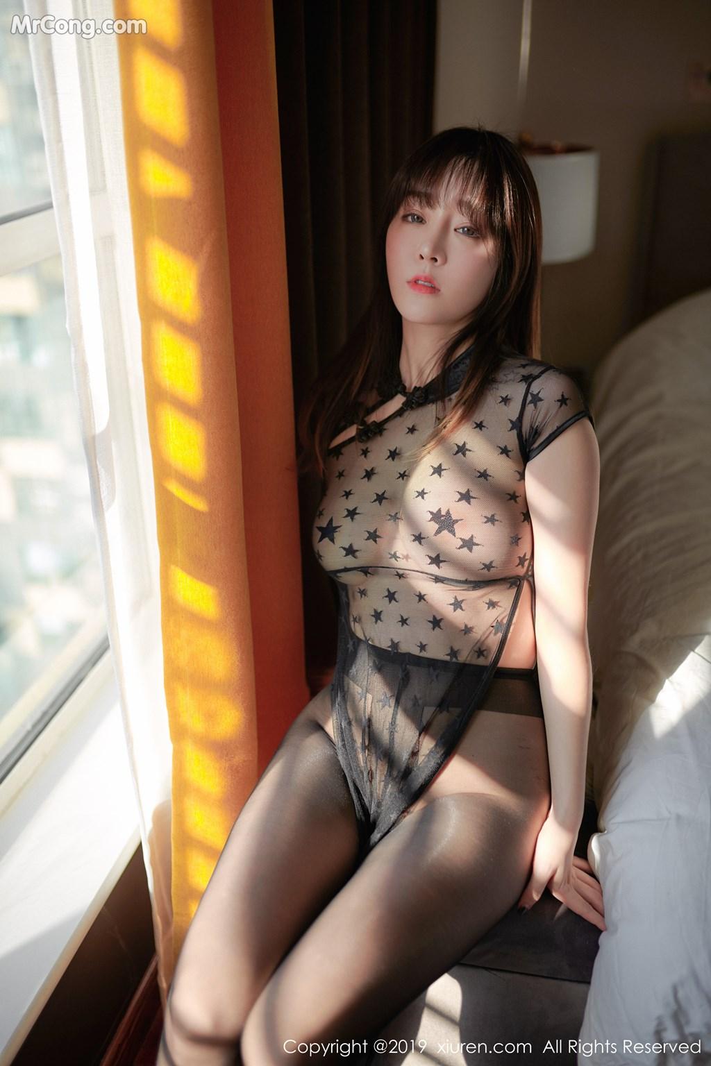 Image XIUREN-No.1363-Wang-Yu-Chun-MrCong.com-006 in post XIUREN No.1363: Wang Yu Chun (王雨纯) (42 ảnh)