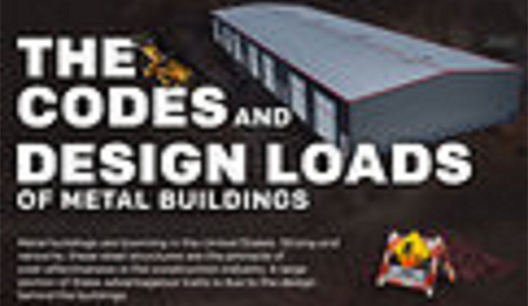 The Codes and Design Loads of Metal Buildings #infographic