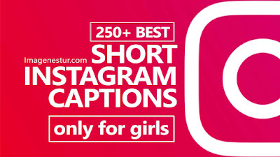 Short Instagram Captions for Girls (One Word)