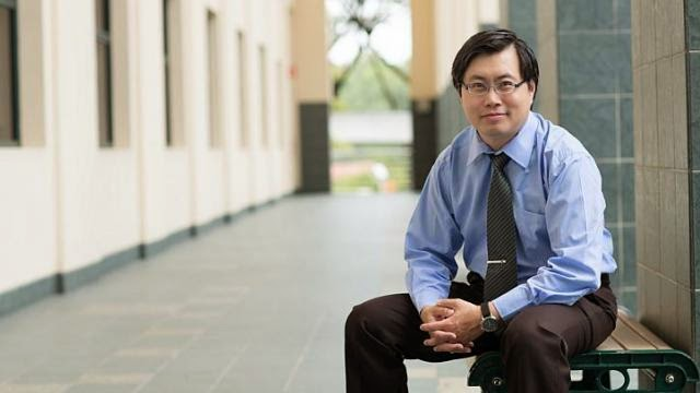 Dr Joseph Yeo Boon Wooi, a mathematics professor at the National Institute of Education, is the man behind the viral math