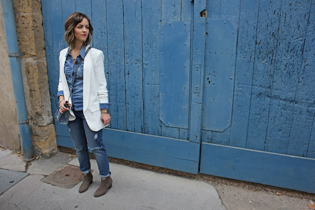 total look jean denim