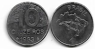 10 Cruzeiros, 1983