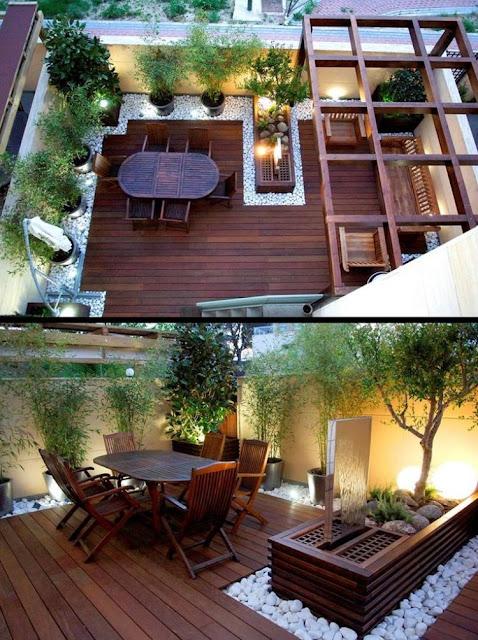 Contoh Dekorasi Balkon Cantik