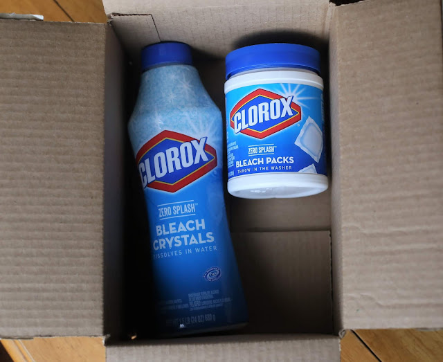 Clorox Zero Splash Bleach Packs and Clorox Control Bleach Crystals