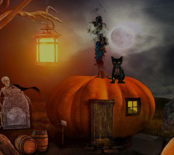 FirstEscapeGames Escape Halloween Cementry 2