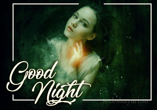 गुड नाईट  स्टेटस शायरी गर्लफ्रेंड  के लिए    good night status shayari for girlfriend