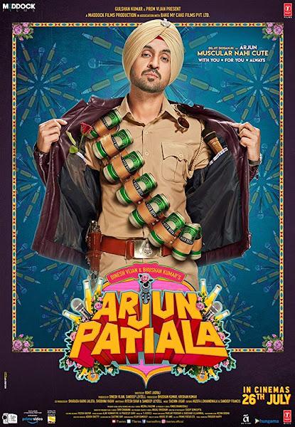 Poster Of Bollywood Movie Arjun Patiala 2019 300MB Pdvd Full Hindi Movie