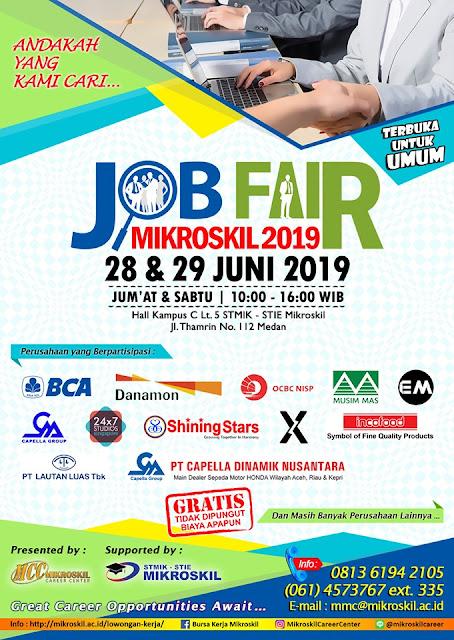Job Fair Medan Terbaru 2019