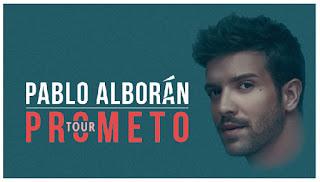 Pablo Alboran Tour Prometo 2018
