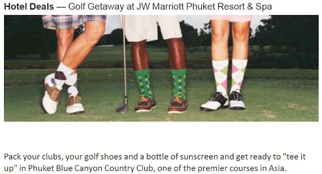 預訂普吉島JW 萬豪度假酒店 JW Marriott Phuket Resort & Spa 高爾夫逍遙遊套餐,享高爾夫逍遙之旅!(2019/6/30 前)