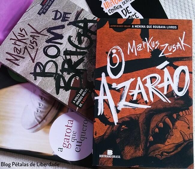 Resenha, livro, O-azarao, Markus-Zusak, Bertrand, blog-literario, blog-literario-petalas-de-liberdade, trilogia-irmaos-wolfe, quote, trecho, opiniao, foto, capa, romance-de-formação
