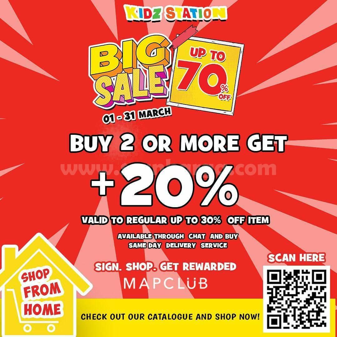 KIDZ STATION Promo BIG SALE Up to 70% Off