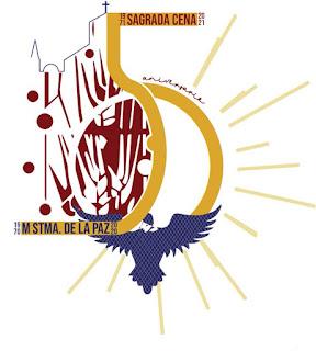 Cartel del 50 aniversario de la Sagrada Cena de Málaga