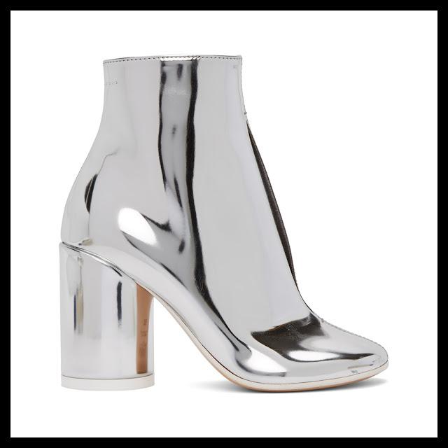 Maison Margiela Silver Boots