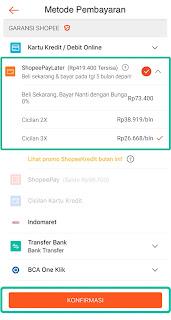 Cara Belanja dan Bayar dengan Fitur ShopeePayLater